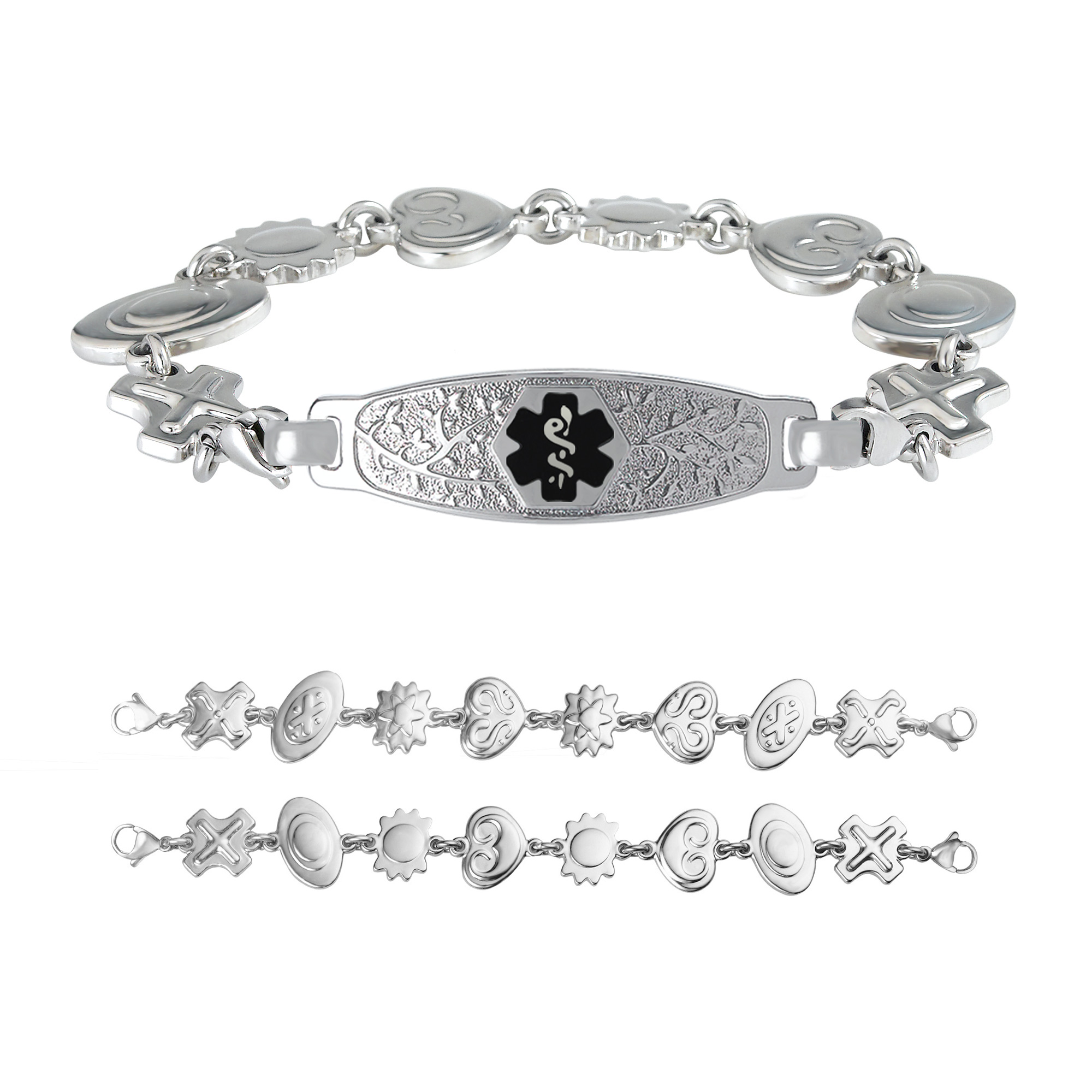 platinum diamond bracelet and bracelets retro jewelry wide pin